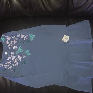 Girls Tea collection dress size 7 new with tags